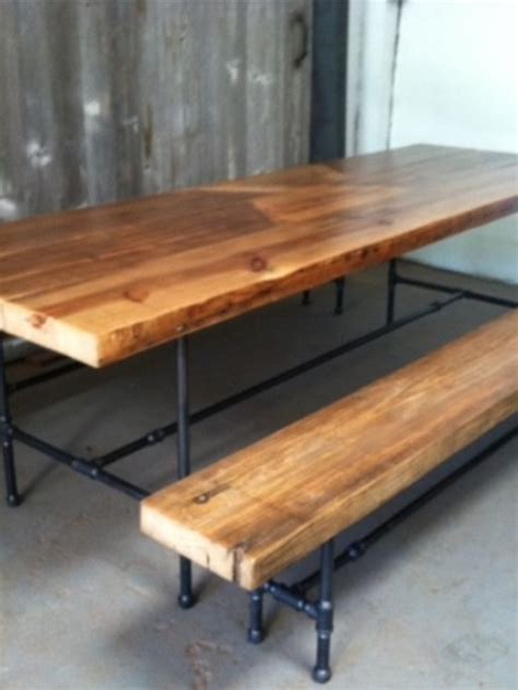 pipe bench plumbing pipe bench 28 images reclaimed wood bench