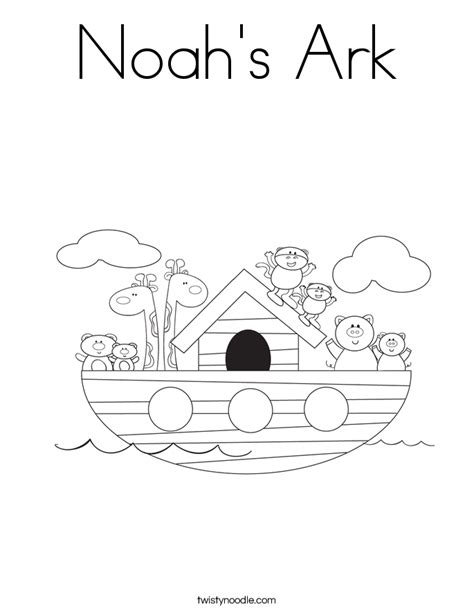 coloring page noah s ark search results calendar 2015