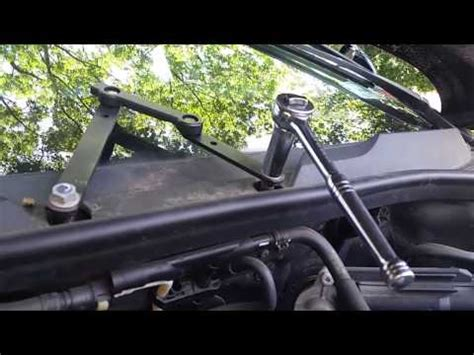repair windshield wipe control 1998 audi riolet instrument cluster q7 wiper arm replacement 1 youtube