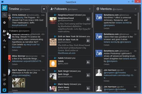 tweet deck for windows tweetdeck 3 for windows unveils new design and better