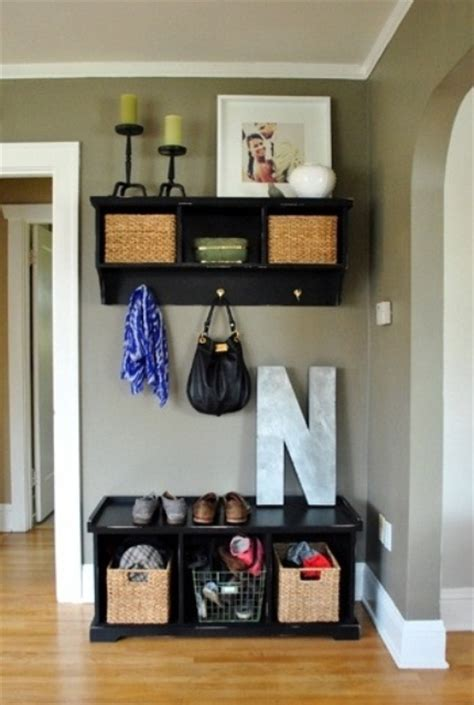 Small Entryway Storage Ideas 75 clever hallway storage ideas digsdigs