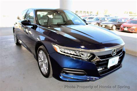 2019 Honda Accord Sedan by 2019 New Honda Accord Sedan Lx 1 5t Cvt At Honda Of