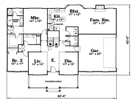 house 7637 blueprint details floor plans