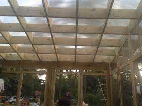 Pergola Polycarbonate Roof by Pergola Roof Polycarbonate Panels Backyard Pinterest