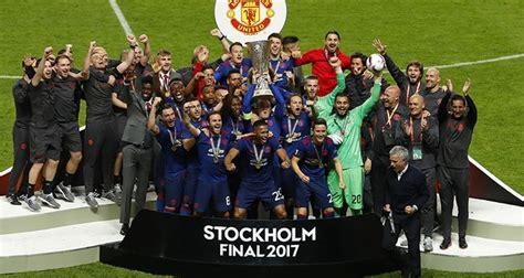 Mdt Europa League Stockholm 2017 Ajax Vs Manchester United 1 manchester united defeat ajax 2 0 to be crowned uefa