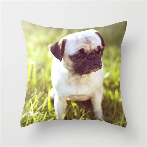 pug pillow pug pillow pillow sad pug pillow pug cushion pug