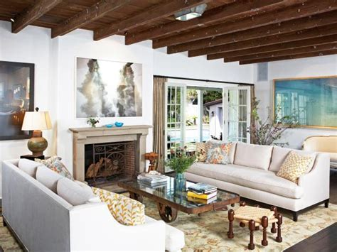 Exposed Beam Ceiling Living Room Photo Page Hgtv