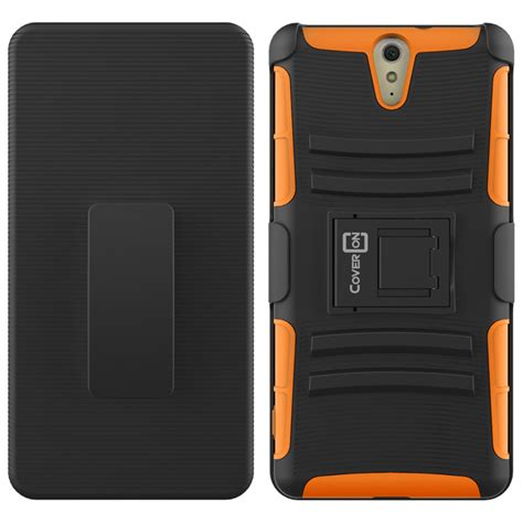 Xperia X Rugged Armor Soft Cover Casing Kickstand Xphase H 1 holster cover rugged tough hybrid kickstand for sony xperia c5 ultra phone ebay