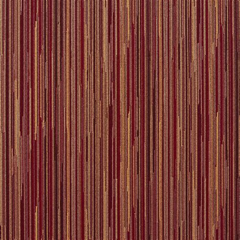red gold upholstery fabric red and gold abstract striped contract grade upholstery
