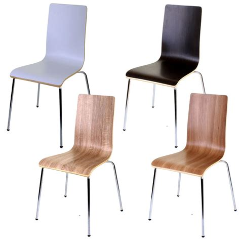wooden dining chairs ebay 4 x wooden dining chairs stacking chair home office