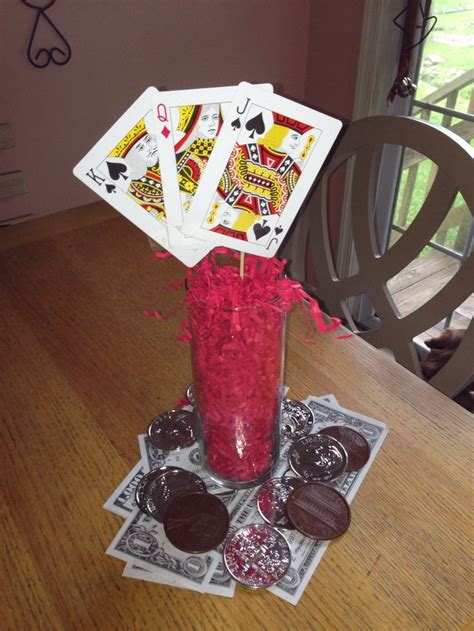 casino centerpieces casino centerpiece ideas images