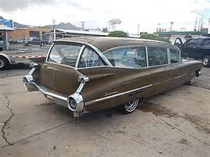 1959 Cadillac Ambulance For Sale 1959 Cadillac Superior Ambulance Hearse Project Car For