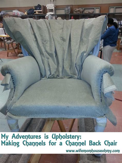upholstery making my adventures is upholstery making channels for a channel