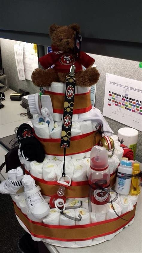 Baby Shower Cakes San Francisco by 22 Best San Francisco 49ers Baby Images On