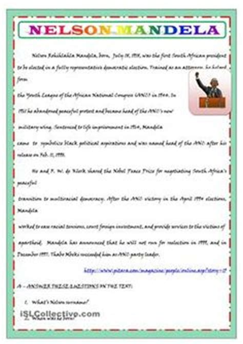 biography nelson mandela in english 1000 images about biography fun on pinterest biography