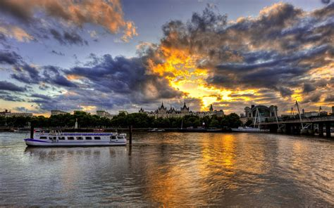 thames river man made london full hd wallpaper and background 1920x1200 id