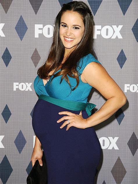 pregnant melissa fumero at fox tcas carpet moms amp babies