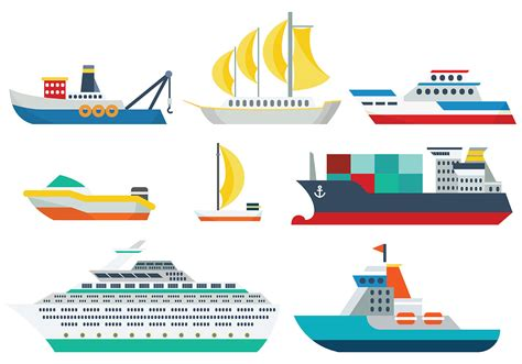 tow boat svg ship icons vector download free vector art stock
