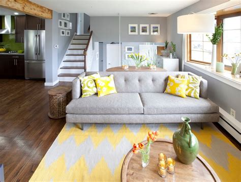 Yellow Bedroom Rug Yellow Area Rug Bedroom Contemporary With Ceiling Light