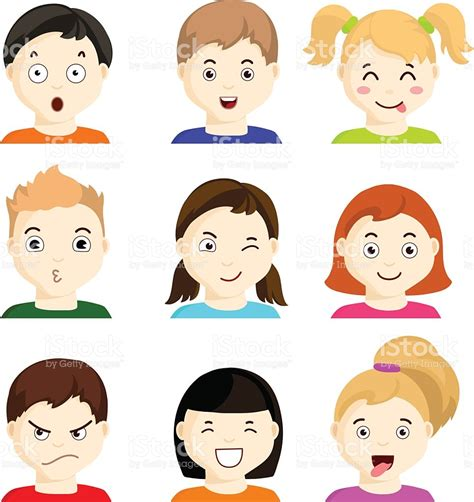 clipart emotions expression clipart child emotion pencil and in color