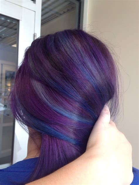 dimensional color dimensional color violet base with sky blue to