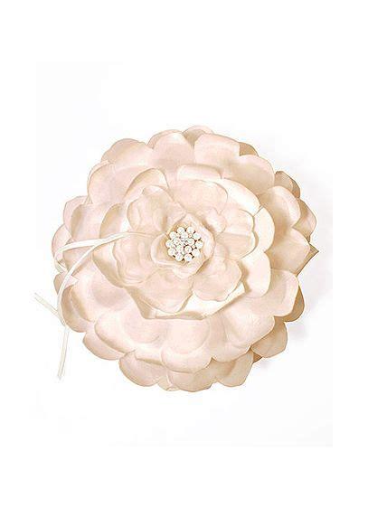 sensational floral ring bearer pillow david s bridal