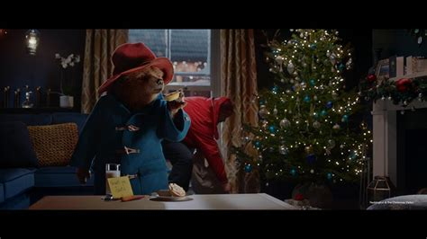 paddington and the christmas paddington stars in m s christmas ad feel christmassy