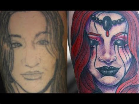 tattoo cover up portrait portrait tattoo cover up vat tattoo series youtube