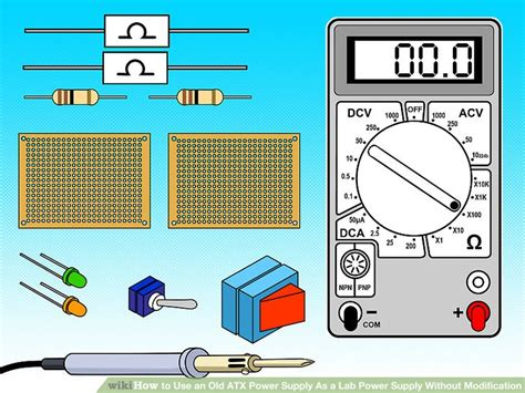 Modification Atx Power Supply by How To Use An Atx Power Supply As A Lab Power Supply