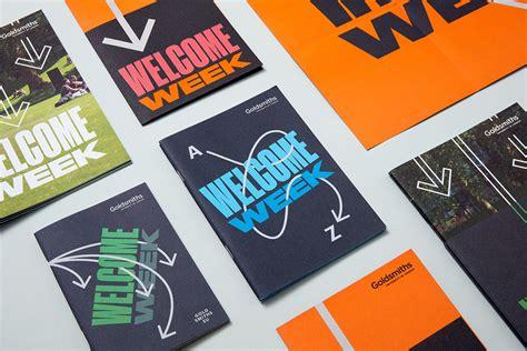 graphics design university london new brand identity for goldsmiths by spy bp o