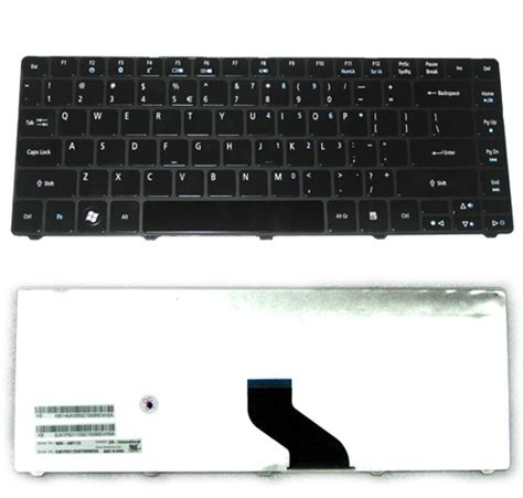 Keyboard Laptop Acer Aspire E1 431 keyboard acer aspire e1 431 3810t timeline glossy black
