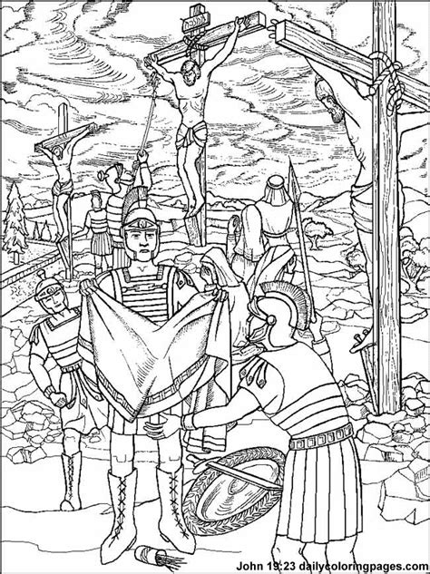 coloring pages jesus crucifixion crucifixion coloring pages az coloring pages