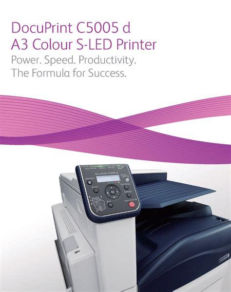 Printer Xerox C5005d jual tinta service printer printer a3 fuji xerox docuprint c5005d