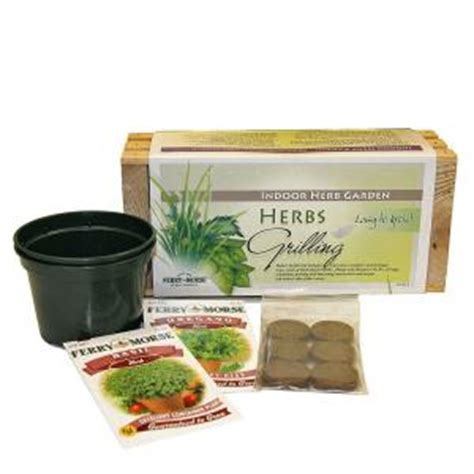 Herb Planter Kit by Ferry Morse Grilling Herb Seed Planter Kit 9920 The Home