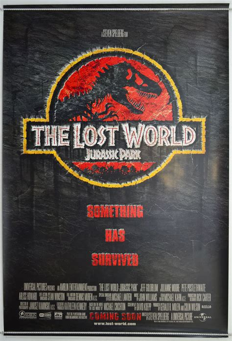 the lost world jurassic park jurassic park ii the lost world 1997 cinema 1 sheet