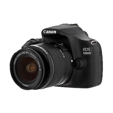 Cek Kamera Canon 1200d jual canon eos 1200d kit 18 55mm iii non is kamera dslr