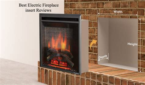Best Electric Fireplace Inserts Reviews by Best Electric Fireplace Insert Jan 2018 Top 10 Reviews