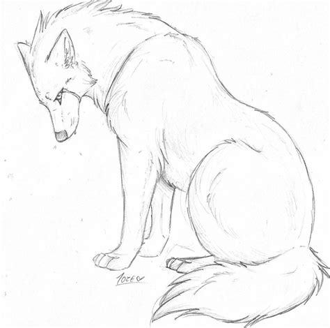 Simple Wolfis M by pandoraswolf on deviantart