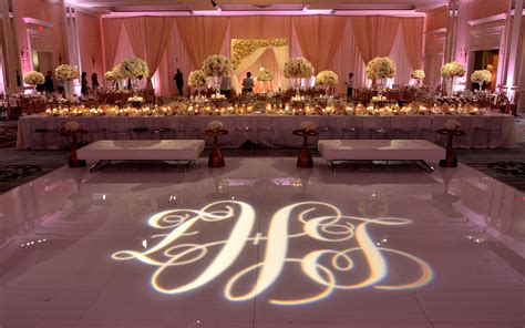 Ceiling Designs by Gobos Absolute Lighting Monogram And Logo Projections
