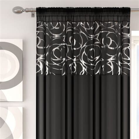 skye curtains skye black voile curtain panel tony s textiles