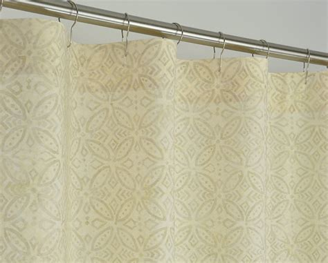 54 inch wide curtains stall shower curtain beige batik 54 wide x 78 by pondlilly