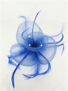 Cheap Flowers Delivery Blue Crin And Feather Fascinators Cheap Blue Fascinators