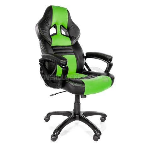 Green Gaming Chair by Arozzi Monza Gaming Chair Green Ocuk