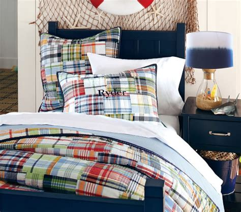 madras pottery barn crib bedding madras quilted bedding pottery barn