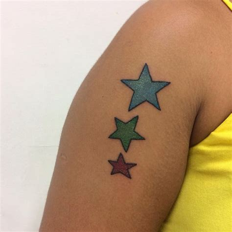 unique star tattoo designs 75 unique designs meanings feel the space