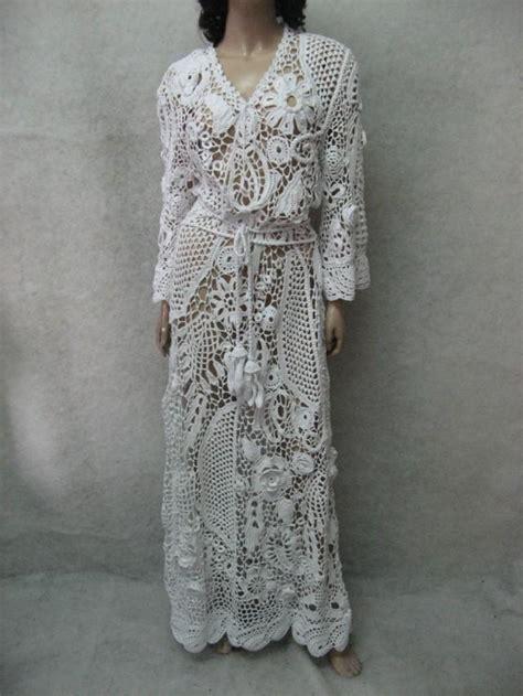 Crochet Dress  Ee  Handmade Ee   Maxi Dress Crochet White Dress