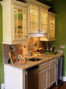 How To Decorate A Hutch Wet Bar