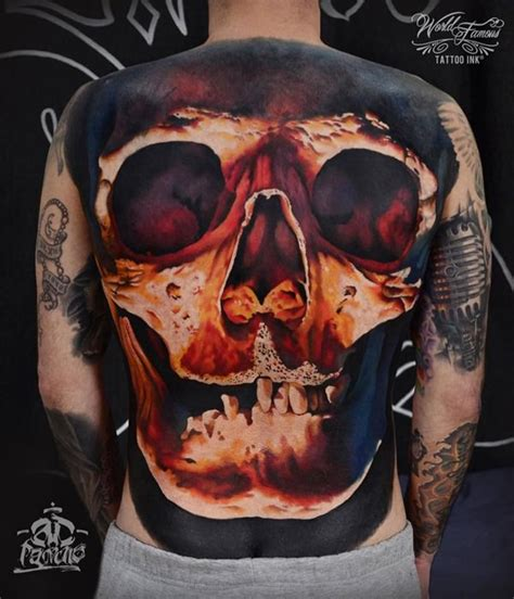 badass skull tattoos 63 skull tattoos for the badass in you
