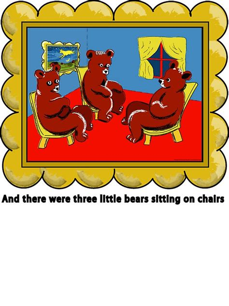 Bubble Chairs Quot Goodnight Moon Three Little Bears Sitting On Chairs