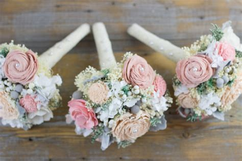 Wedding Bouquets For Bridesmaids by Wedding Bouquet Bridesmaids Bouquet Blush